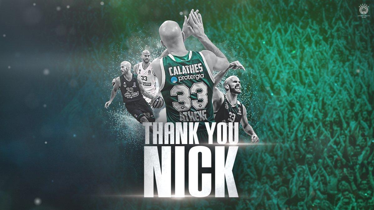 Ufficiale: Nick Calathes lascia il Panathinaikos, direzione Barcelona