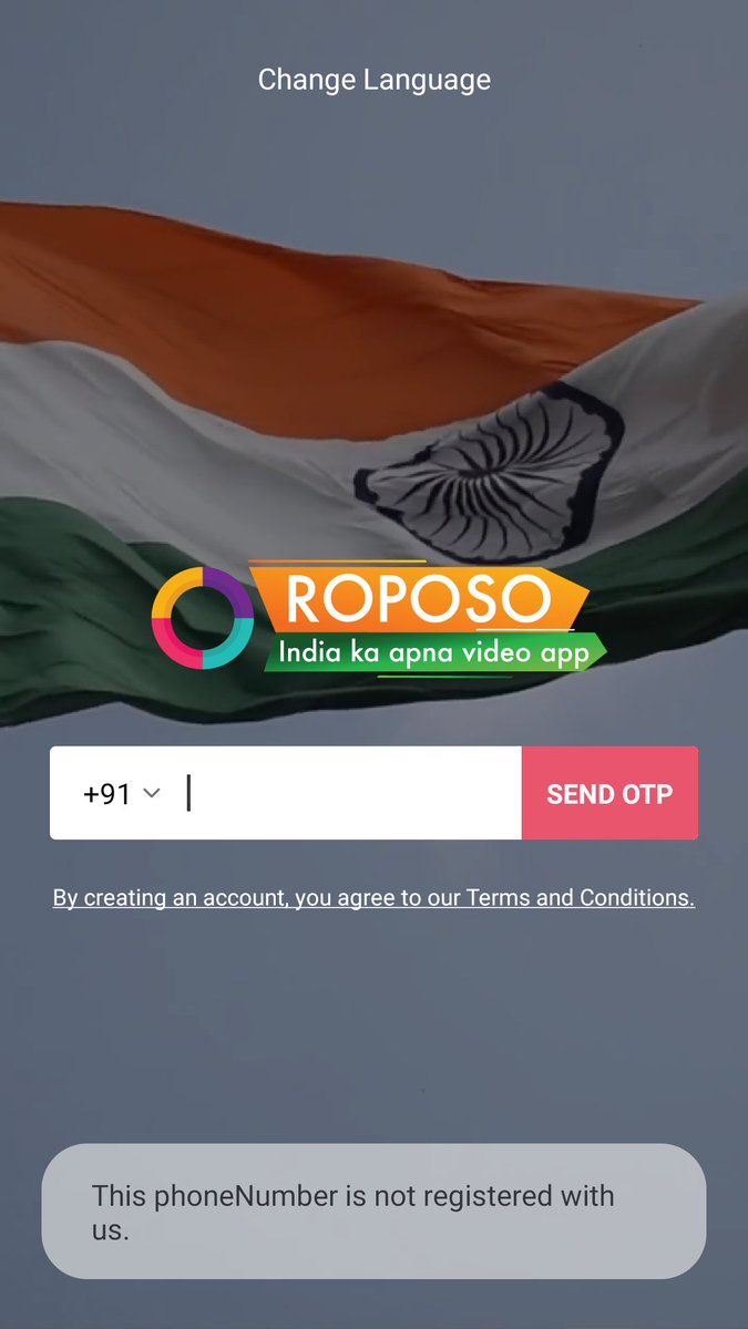 @rsprasad need to focus too much @narendramodi All are talking about #MakeInIndia #AatmaNirbharBharat #DigitalIndia but the reason we can't ahead from others @RoposoIndia alternative of til tok ask mobile no and it is  compulsory. Rubbish policy. @roposolovee  @AppRoposopic.twitter.com/OcfL0nJuSm