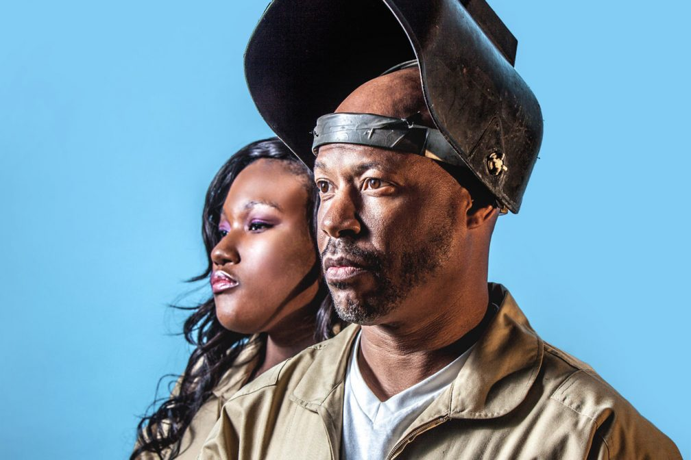 Floorplan is Robert Hood and Lyric Hood, love that they make music together as father and daughter.