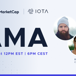 Image for the Tweet beginning: The AMA hosted by @CoinMarketCap