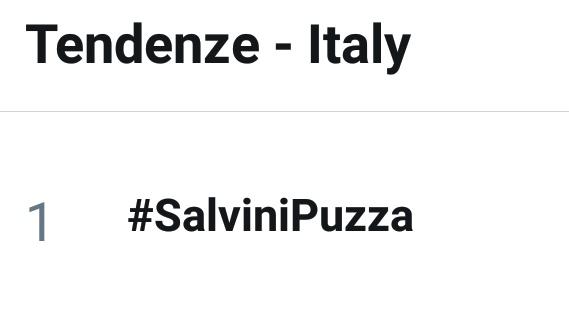 #SalviniPuzza