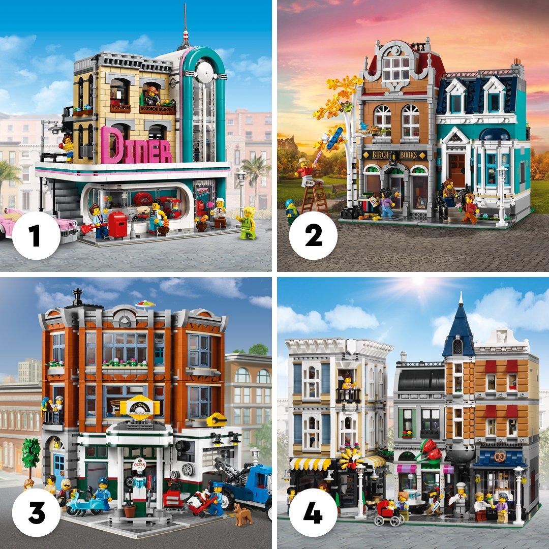 Which of these beautiful buildings would you most like to build this weekend? 😍 https://t.co/TVOBCOXLcU