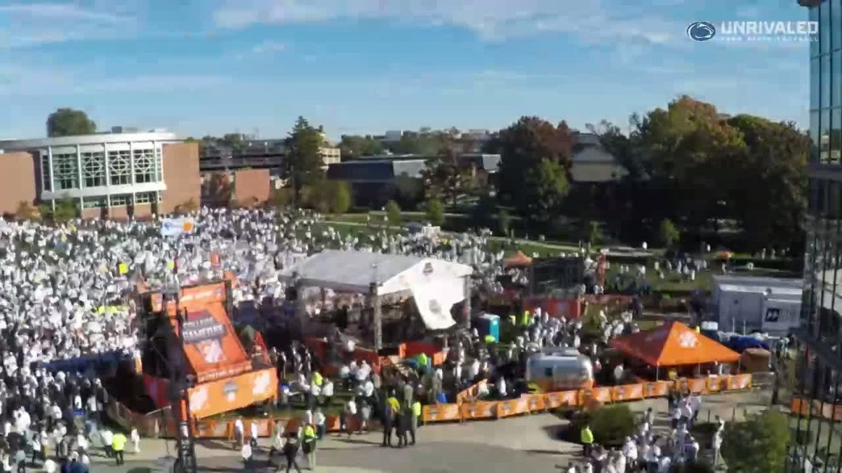 From start to finish! Check out the process behind @CollegeGameDay's setup! #WeAre