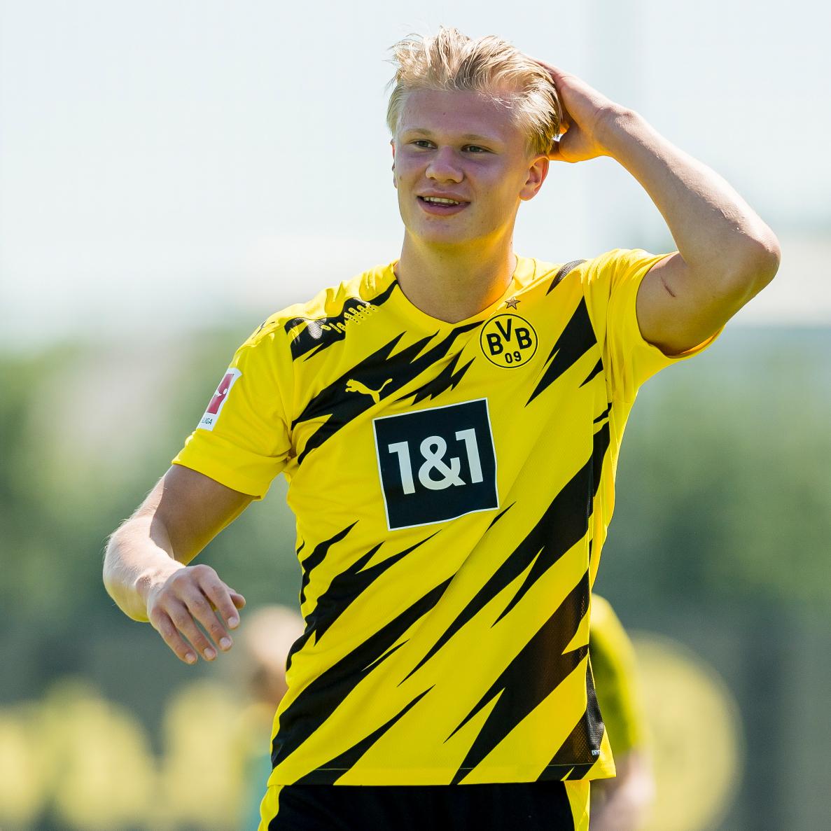 [#Bundesliga🇩🇪] Erling Haaland vient de récupérer le numéro 9⃣ de Dortmund ⚡ (@BVB)