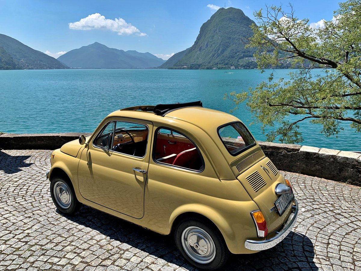 🇮🇹 #FiatFriday  For Sale  1974 #Fiat500 #FIAT 500 R CHF 10'900.–  Anbieter: © by GARAGE CICCONE S.a.g.l, 6964 Davesco Soragno (CH) https://t.co/EAxO1iCuPx