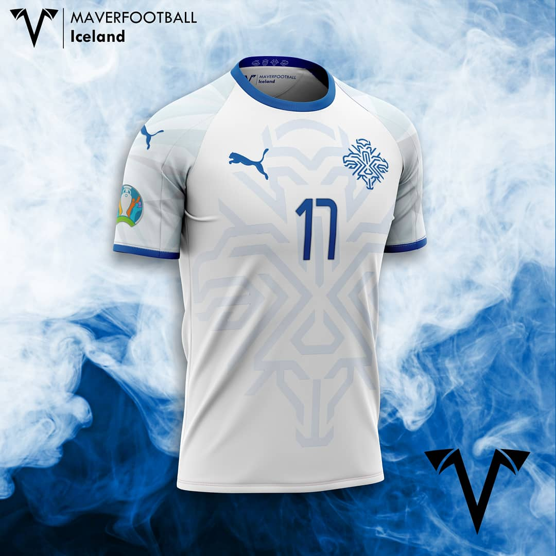 @footballiceland revealed the new Logo. What about it on my new away #concept?  #iceland #ksi #icelandfootball #puma #pumafootball #euro #crest #football #euro2020 #euro2021 #goal #kitdesign #footballkit #footballshirt #geysir #conceptkit #design #futbol #futebol #reykjavik https://t.co/t511FgqWtW
