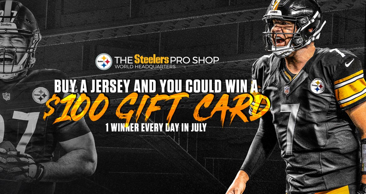 Shop jerseys for a chance to win a $100 gift card! SHOP: bit.ly/2NThP37