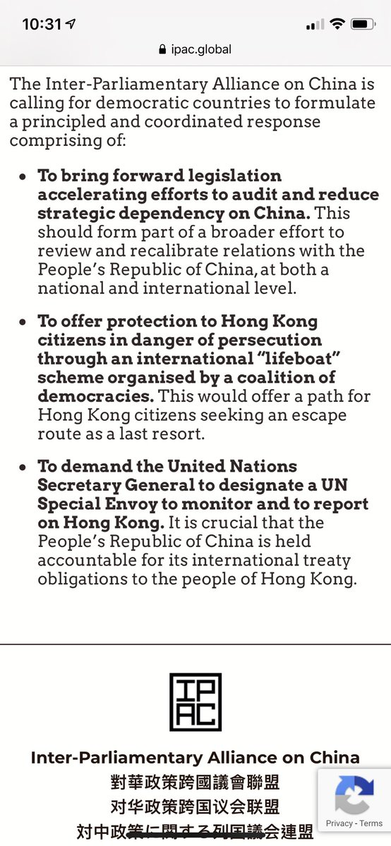 """@ipacglobal have you thought of calling for """"help push a motion to @UN as member countries to disqualify #China's presence on the @UNHumanRights Council panel immediately."""" too? Isn't it ironic for a county like that to be on the panel? #antielab #antinsl #NationalSecurityLaw https://t.co/cy1AeHO0VV"""