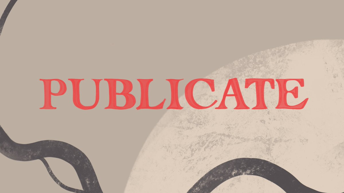 📢@PublicateFest has launched! Created by our own Joe Vaughan, Publicate is a digital festival celebrating independent publishing. From 5-9 Aug, it will host online events with publishers, authors and artists to highlight the importance of indies in publishing. ➡️@PublicateFest https://t.co/lkl8PRTgF7