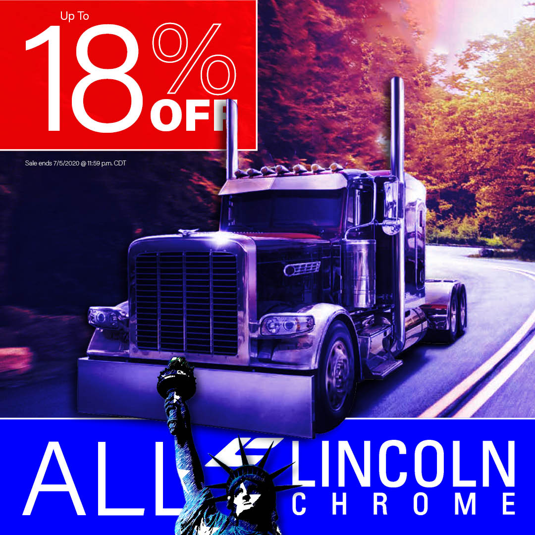 Get up to 18% OFF All Lincoln Chrome Products this weekend! Click here to shop now! https://www.4statetrucks.com/info/lincoln-chrome-exhaust.asp… Sale Ends 7/5/20 @ 11:59PM CST.  #4StateTrucks #ChromeShopMafia #chrome #chromeshop #customtrucks #semitrucks #trucking #bigrig #largecar #truckers #longhaul #lincolnchromepic.twitter.com/vt1HPVLfxq