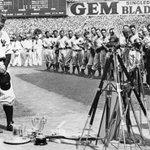 "Image for the Tweet beginning: ""Luckiest man"":  Yankee Stadium,"