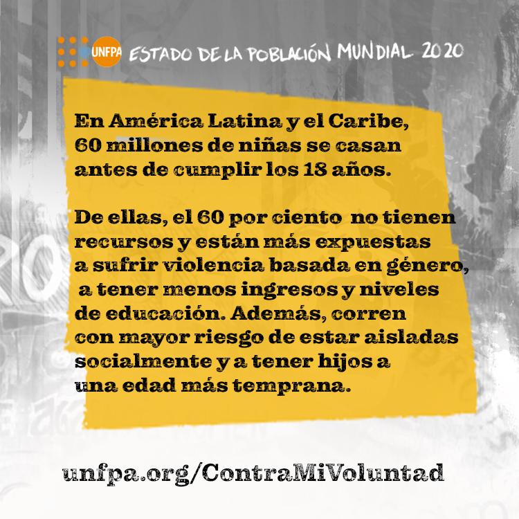 📝 En nuestro Paraguay, una de las prácticas dañinas que se registran son los matrimonios infantiles y las uniones tempranas (que se realizan antes de los 18 años), pues menoscaban derechos de las niñas y adolescentes.  #ContraMiVoluntad @unfpa_lac https://t.co/nzsuLg59Cc