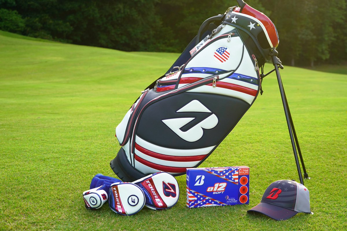 🇺🇸Fourth of July Giveaway🇺🇸    To WIN: 👉 RT 👉 FOLLOW @bridgestonegolf   (1) Grand Prize Winner:   🇺🇸 Stand Bag   🇺🇸 e12 Patriot pack   🇺🇸 Hat   🇺🇸 Headcover set  (10) Second Prize Winners   🇺🇸 e12 Patriot pack https://t.co/1lS9V4JuvB