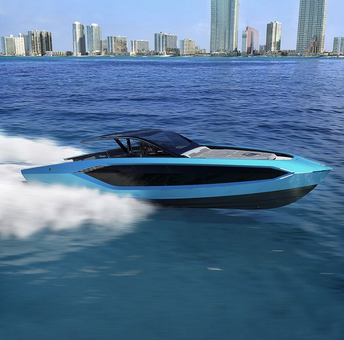 So Lamborghini made a boat, I hate being poor