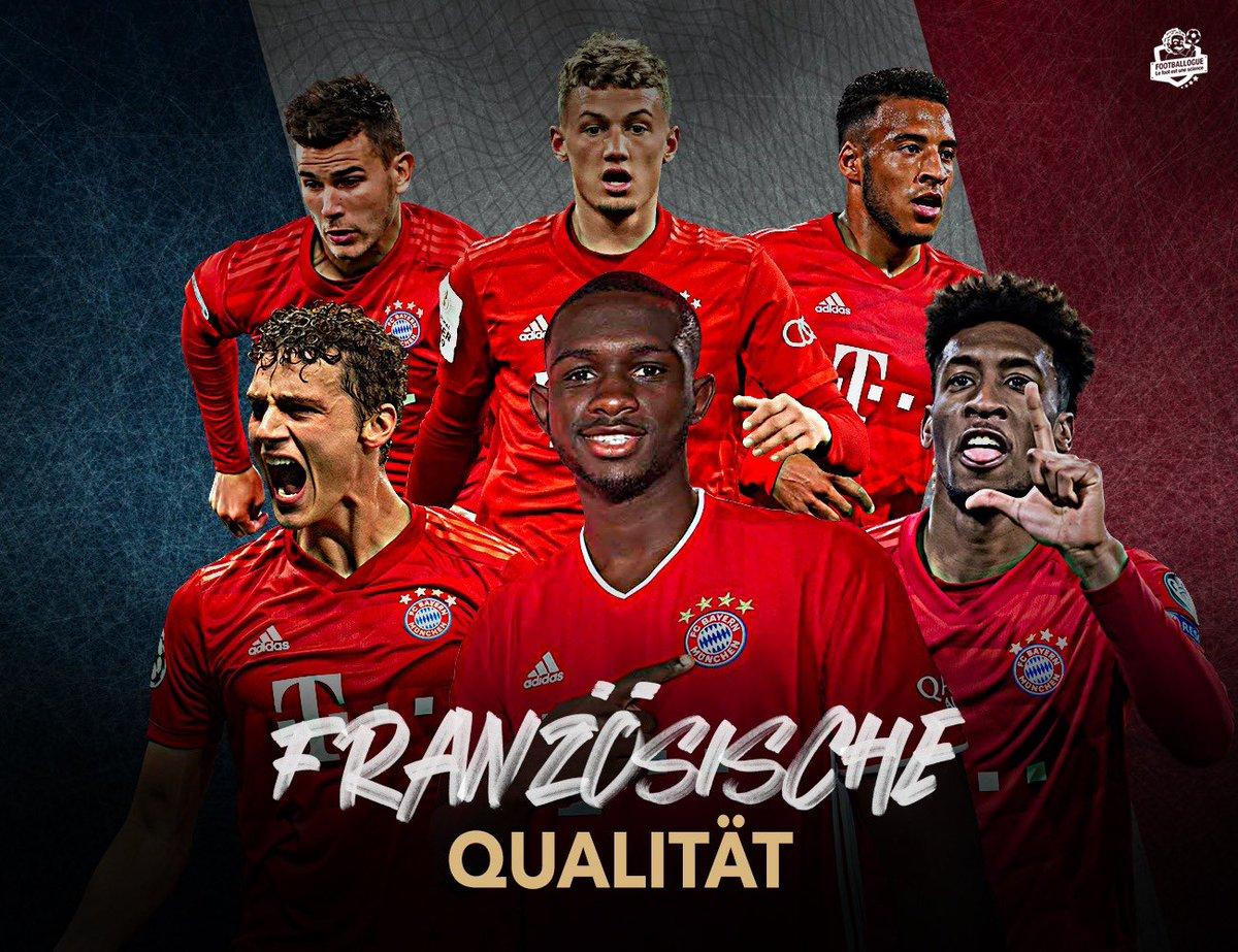 [#Bundesliga🇩🇪] Französische Qualität, la Touche Française ! 😏 🇫🇷 Pavard 🇫🇷 Kouassi 🇫🇷 Coman 🇫🇷 Cuisance 🇫🇷 Hernandez 🇫🇷 Tolisso Le Bayern est Bleu Blanc Rouge 👊