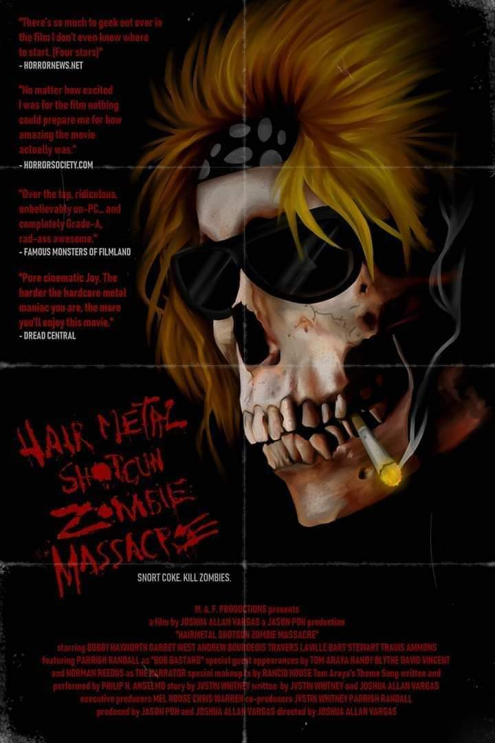Hairmetal Shotgun Zombie Massacre Hmszmofficial Twitter