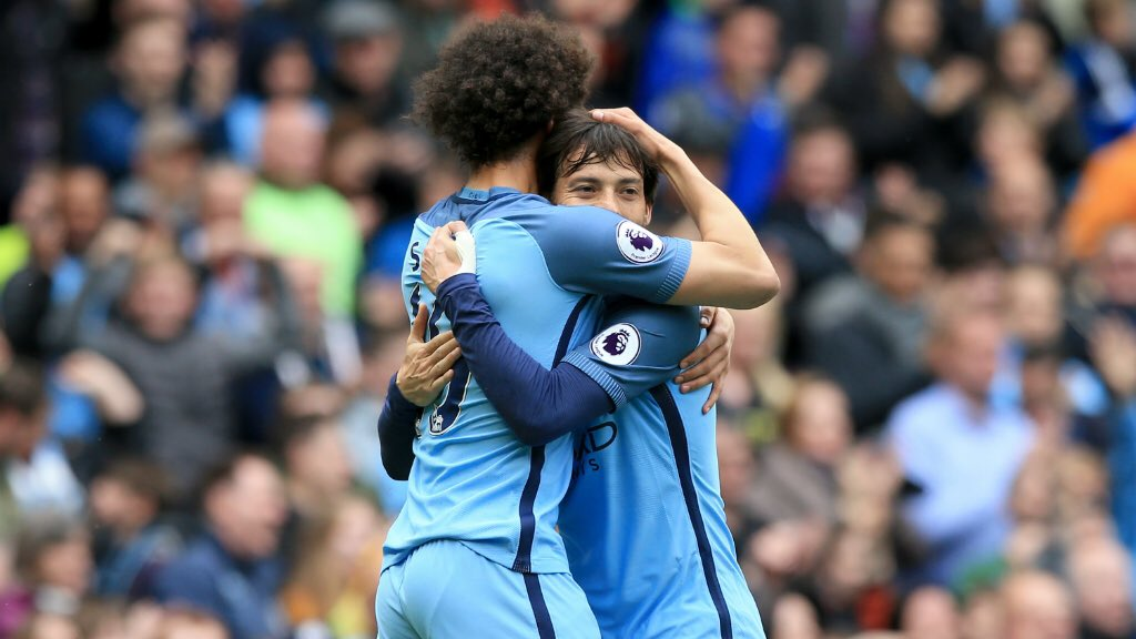 I have enjoyed so much playing with you amigo! You're one of the most talented players I've seen and I am sure you will achieve everything you want in the future. All the best @LeroySane19 https://t.co/dahJ0mNPGN