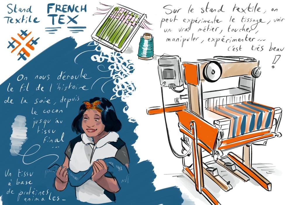 [UNE SEMAINE UN DESSIN] Le #textile français est partout où l'#innovation et la #créativité s'expriment. Partout où on ne s'attend pas à le trouver ! Venez en apprendre davantage sur les nombreux #métiers de ce secteur #MDM2020 + d'info 👉 https://t.co/IL9bTlNjKp Anne Bernardi 🙏 https://t.co/P7GTKdFKUR