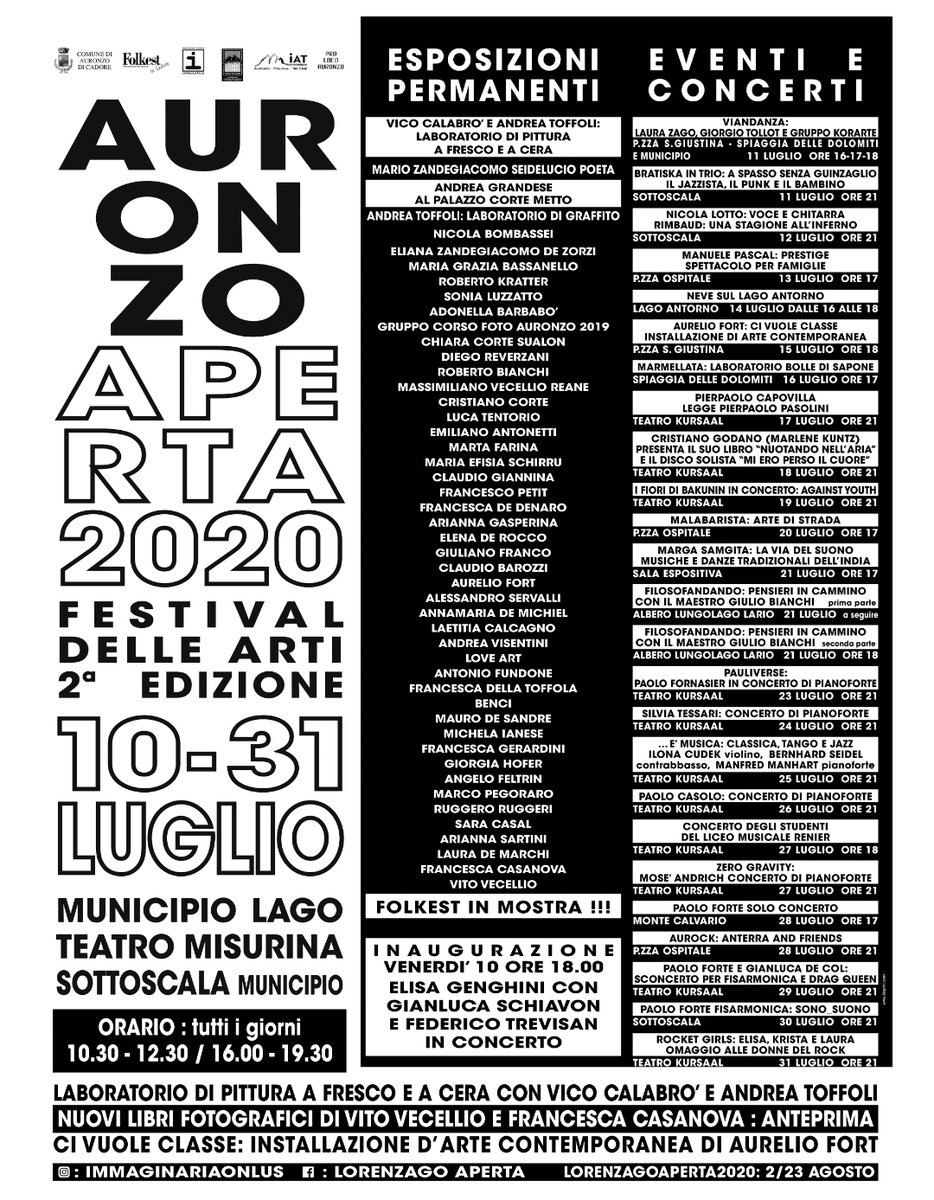 Auronzo Aperta e Lorenzago Aperta: sei settimane d...
