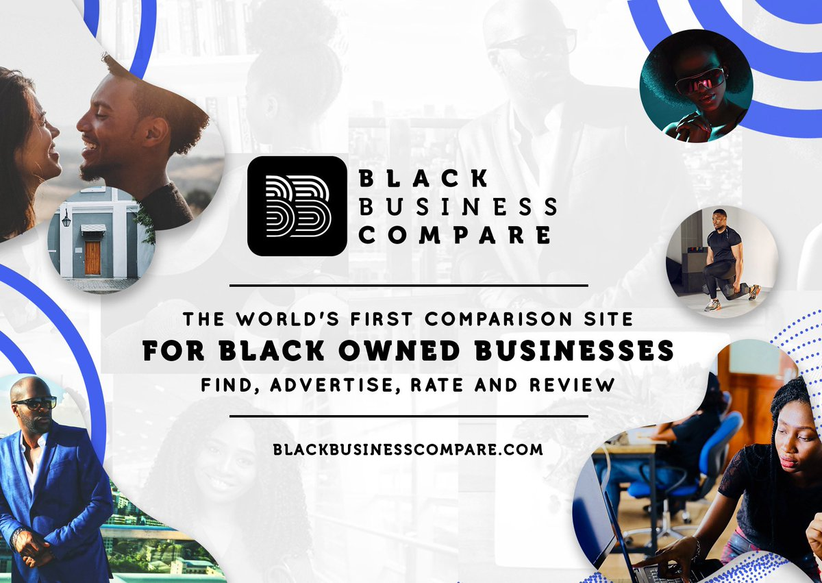 We've partnered with @bbcompare1 to give you the Worlds first comparison site for black owned businesses   • Find the best Black Owned Businesses   •Advertise & List your business   •Rate, Review & Compare  Currently covering 🇬🇧 🇺🇸 🇩🇪 🇫🇷 🇳🇱   Visit https://t.co/fpKhrfdZIi https://t.co/vyOCayFzaD