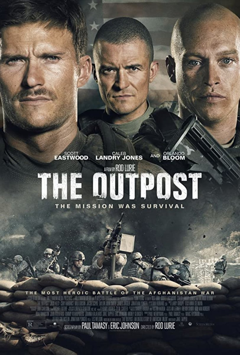 THE OUTPOST is out today - you can watch on all streaming services. true story about one of the most deadly battles of the Afgan war. my friend was the military-technical advisor (he's a retired US Army Ranger) and the realism of this depiction is unsettling. highly recommend https://t.co/kcRuPHGioE