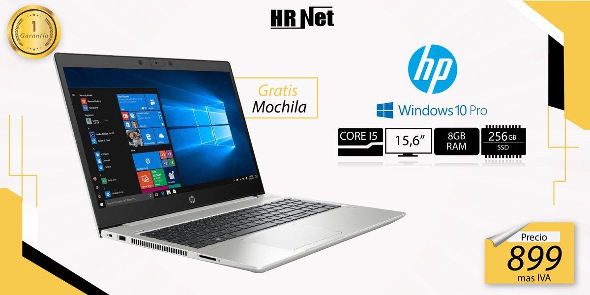 """Hp probook, equipada con un procesador intel Core I7 es capaz de desafiar a otros portátiles de negocios  .  Procesador Intel® Core™ i7  8 GB DDR4 2666 MHz SDRAM  Pantalla 15,6"""" FULL HD  256GB Disco Duro Solido  Windows 10 PRO  Envíos a nivel nacional.  . pic.twitter.com/jNUH1B00jO"""