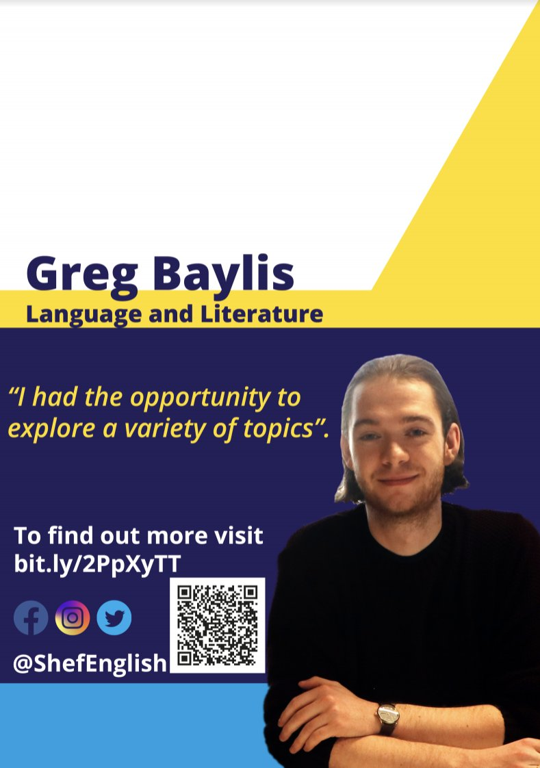 Happy #Friday! Greg shares his experiences as a Language and Literature #student at the School of English. #highered https://youtu.be/vSagG-pbxKU pic.twitter.com/UYUl2RtzEg