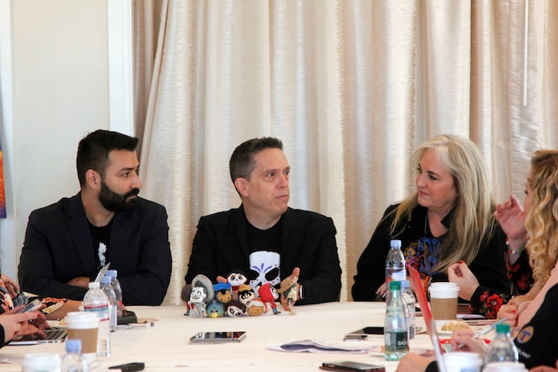 A Magical & Filled with History, Culture, & Behind-the-Scenes Details Interview with COCO Directors @LeeUnkrich @AdrianTheMolina &Producer @DarlaKAnderson #PixarCocoEvent #PixarCoco #COCO https://t.co/aM7yq6zjFB https://t.co/5zG7zDBHen