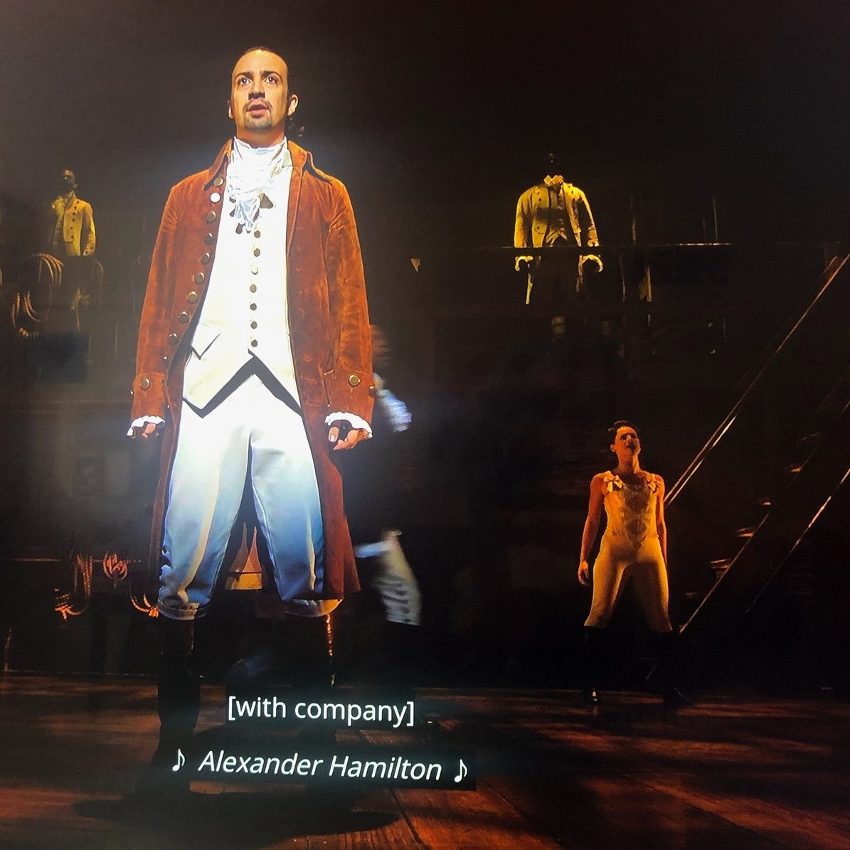 Was bummed COVID cancelled Hamilton at the Fox in May.... So excited to finally to see it!