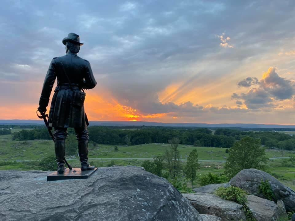 In the end, the Battle of Gettysburg resulted in over 50,000 casualties in 3-days and remains the bloodiest battle ever fought in America. Lee and his shattered army would limp back to Virginia and cross the Potomac on July 14, never to invade the north again #gettysburg https://t.co/g4T64rMPl8