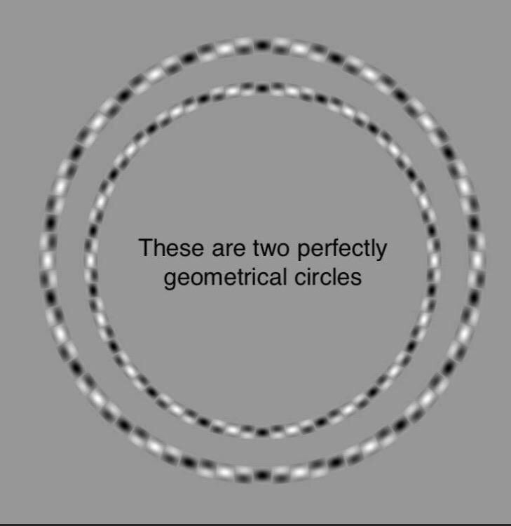 Aaaaaarrrrggggghhhh! I HATE visual illusions 😡😡😡