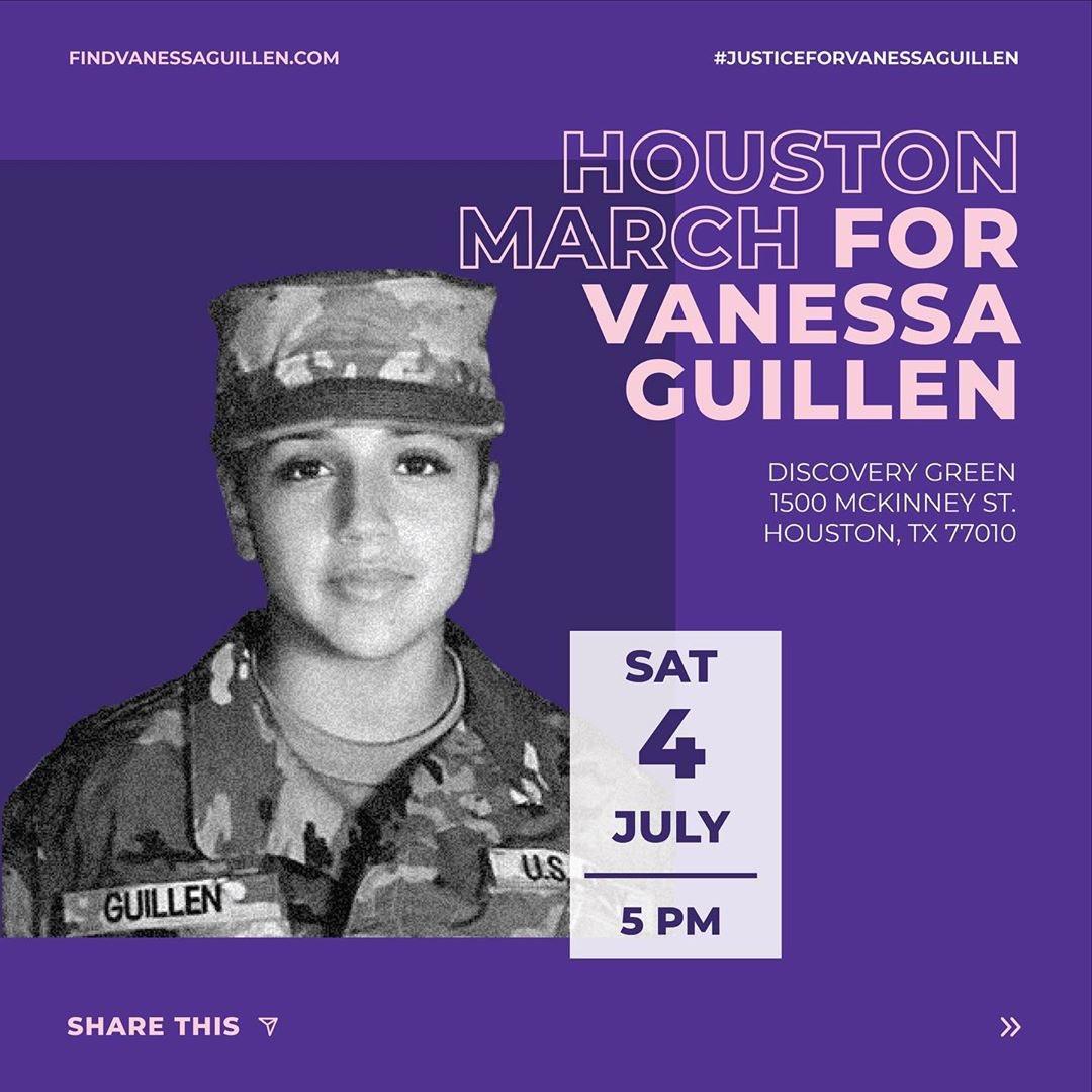 Houston show up! 💜🙏🏼#JusticeForVanessa   - Demi https://t.co/siLAfvDAFc