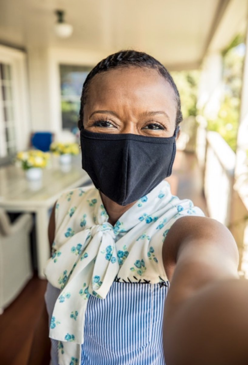 #WearADamnMask to keep yourself, your family and others safe. Thank you @toryburch for challenging us all to do our part. https://t.co/76yLslIQMH