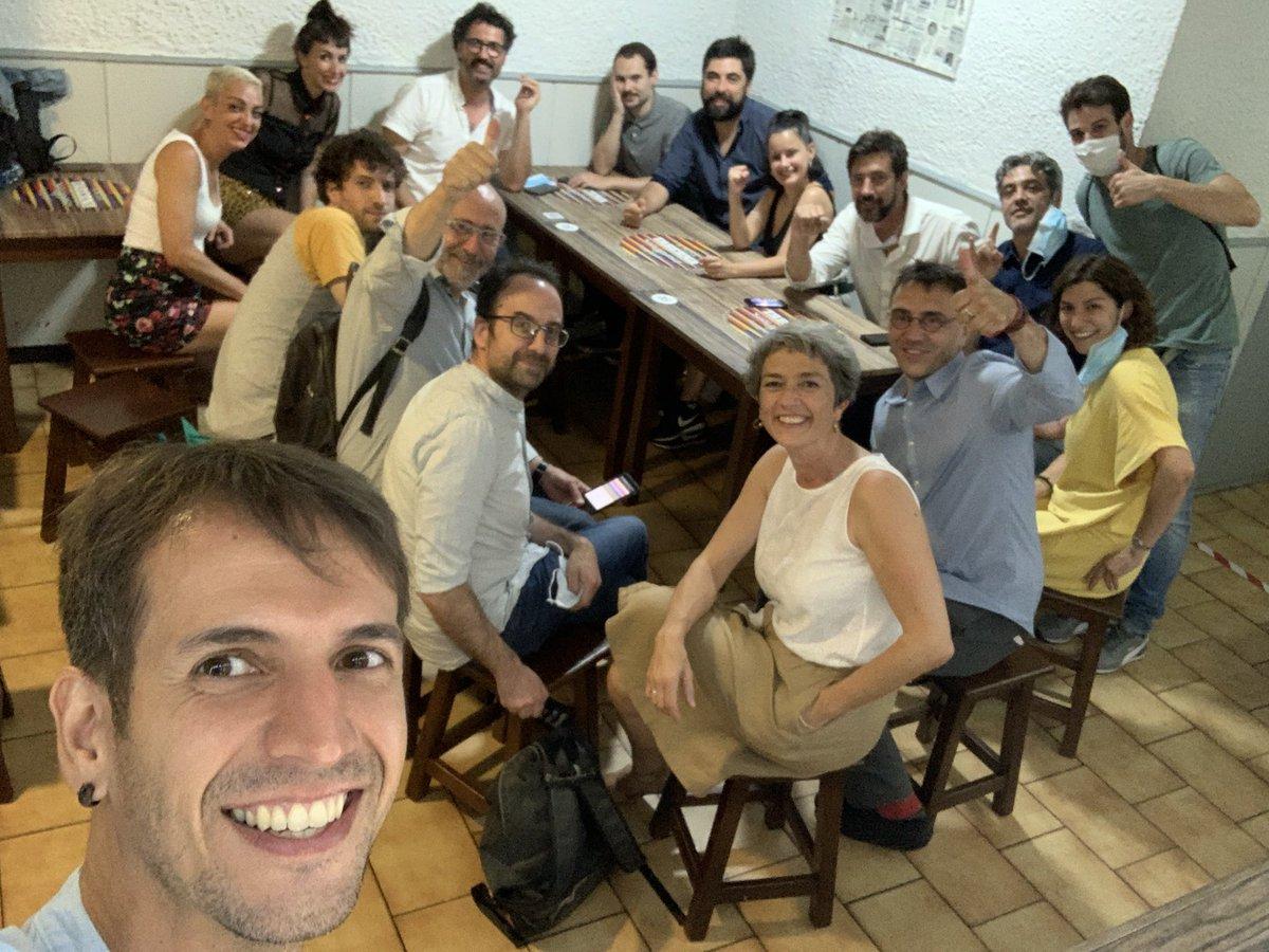 Acabar o acto central de Ourense, coa mellor xente e cun equipazo! Graciaaas! ❤️