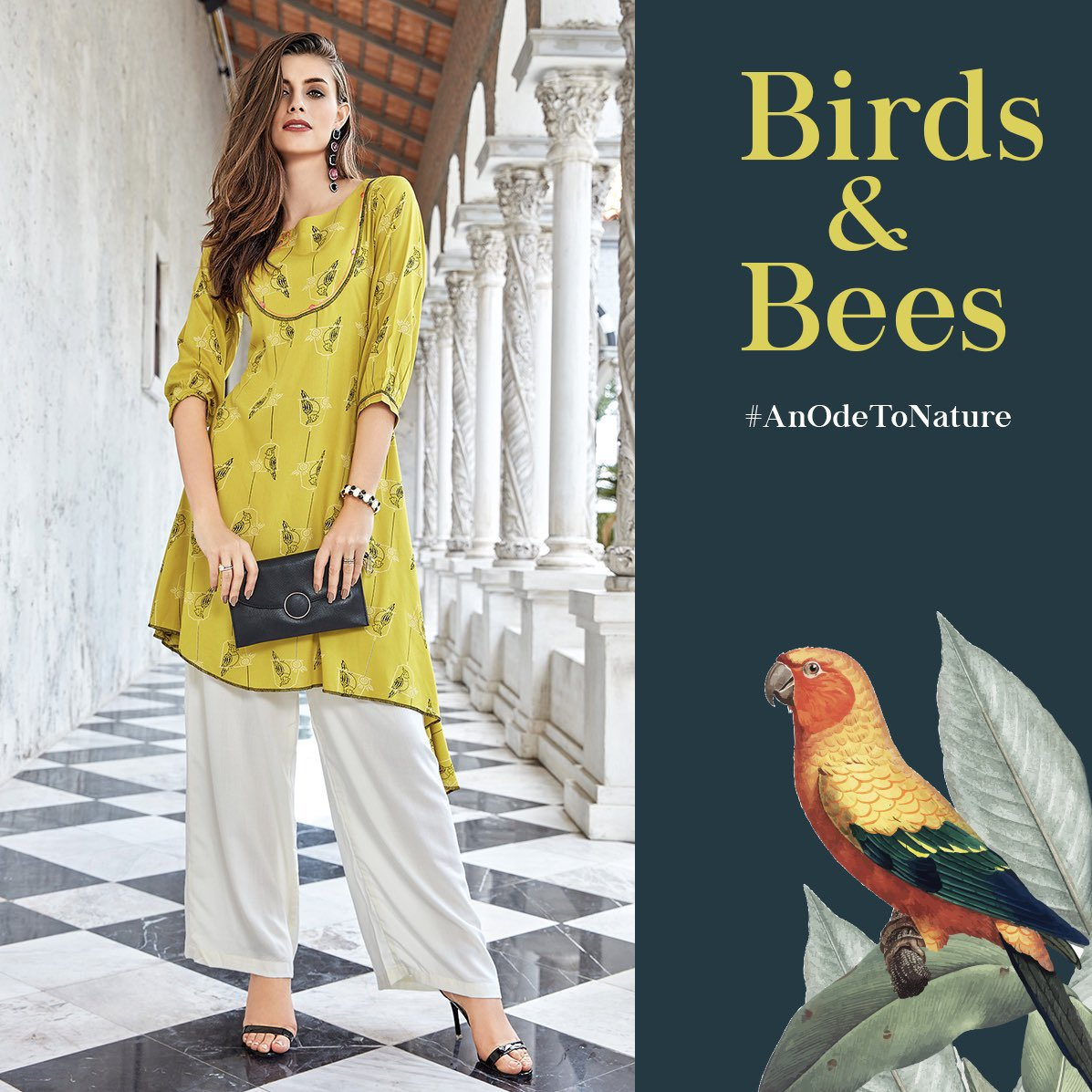 It's no surprise that nature influences fashion in a lot of ways. Here is one such piece from Neeru's India that is inspired birds.   Our standout styles are here to sweep you off your feet. Visit http://neerus.com  now!   #Neerus #NeerusIndia #AnOdeToNature #NatureInspired pic.twitter.com/MZtjZShfCl