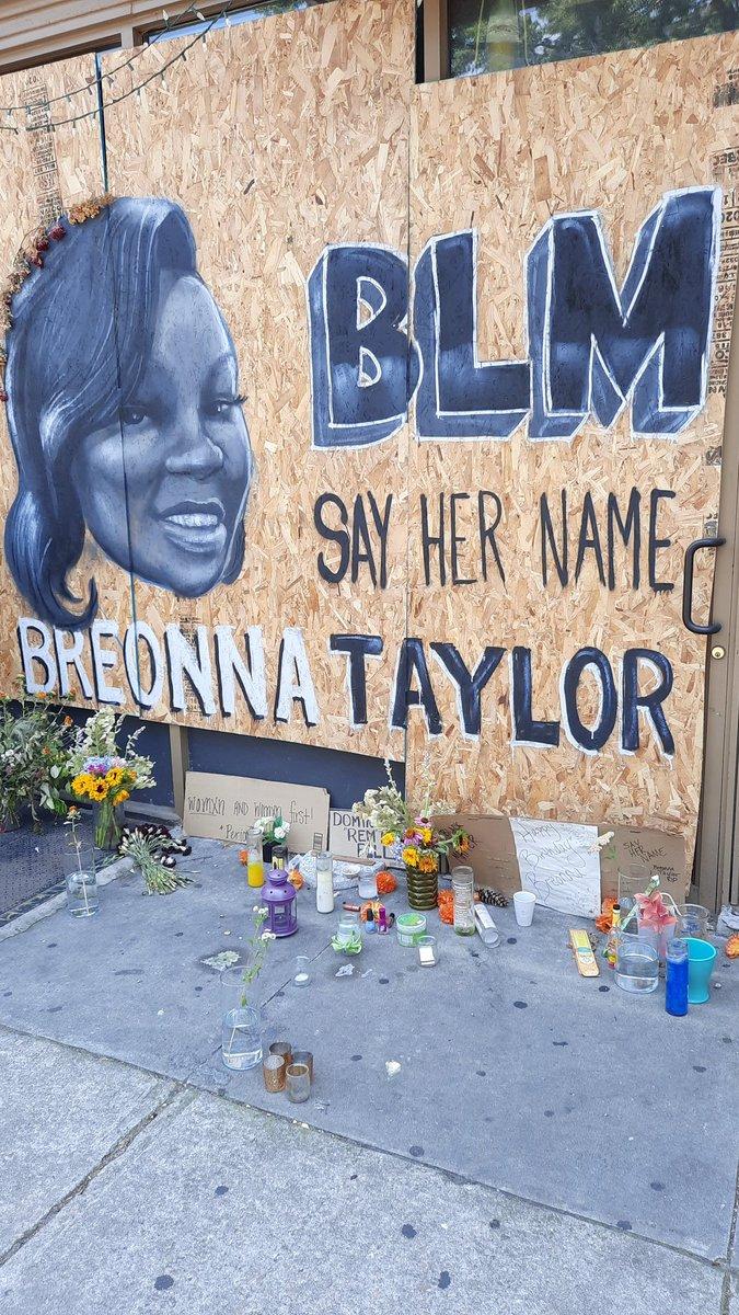 #BlackLivesMatter #BLM #BreonnaTaylor #SayHerName #happybirthdaybreonnataylor #happybirthdaybreonna