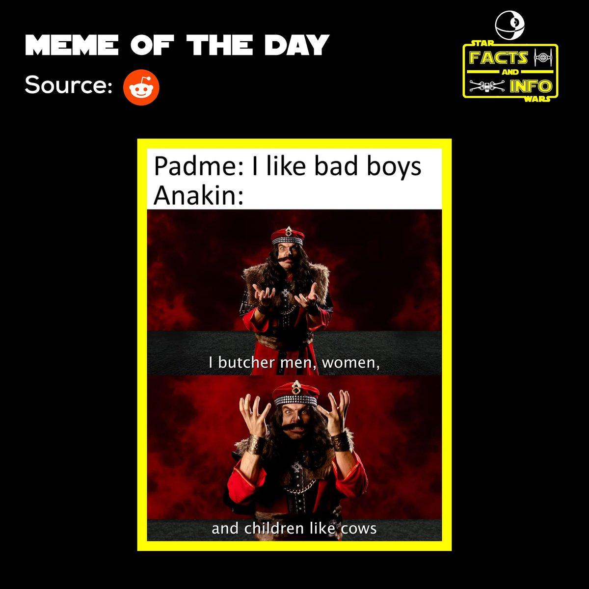 Meme of the Day  #starwars #starwarsmeme #eastarwars #meme #memeoftheday #swgoh #galaxyofheroes #anakinskywalker #padmeamidala #obiwankenobi #jedi #jedipurge #sand #tatooine #sandpeople #tusken #tuskenraider #theclonewars #reddit #funnypic.twitter.com/YkRwKUvwK7