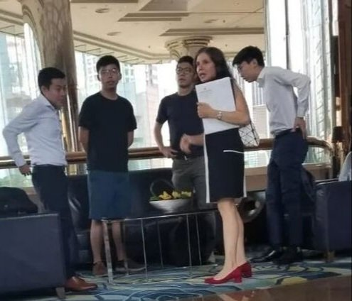 "#HK #HKers #HKProtests  The Five Eyes intelligence alliance - nay, the Anglo Five Eyes Hegemonic Alliance - at work in #HongKong.  And it looks terrible for ""leader"" Joshua & company (and is that Nathan Law ?) ...  clearly ... the 'school boys' with their 'foreign headmistress' https://t.co/deo2CorNeD"