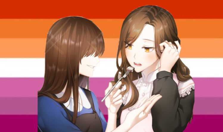 Jaehee from Mystic Messenger is a lesbian! pic.twitter.com/sr3mxyXmlM  by your fave loves lesbians^2