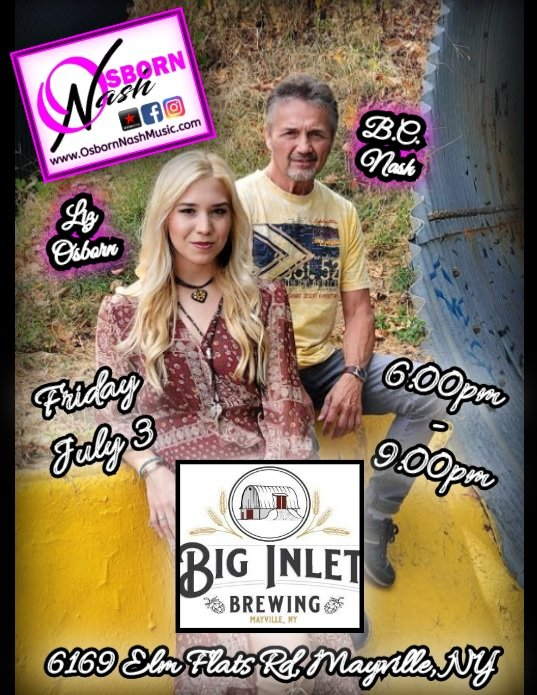 #TODAY @BigInletBrewing!!! With Big Melch's BBQ Food Truck!!! See you all there!!!  😁🎶😃🍻 • • • • • • • • • • • • #friday #friyay #fridayfeeling #fridaymotivation #livemusic #acoustic #acousticduo #4thofjuly #independenceday #on #osbornnash #follow #followformore https://t.co/ihRNJ8df27