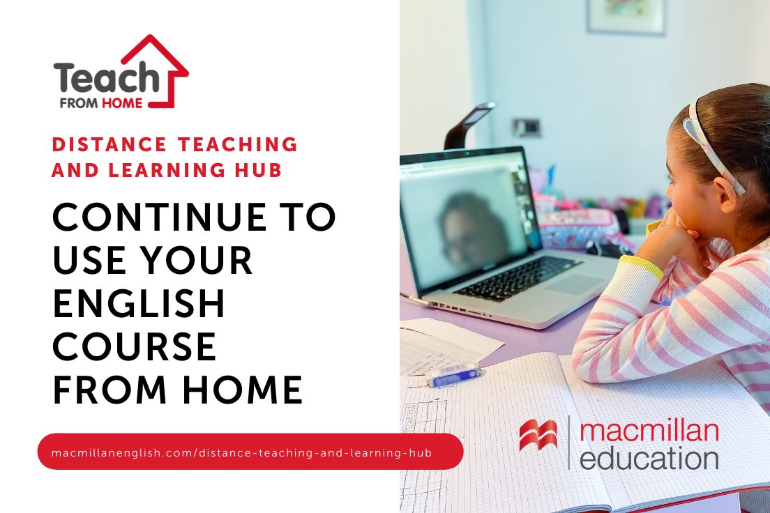July is here, you've made it so far! So let us help you with a wide variety of free resources: https://www.macmillanenglish.com/distance-teaching-and-learning-hub/home …  #TeachingFromHome #FridayFeelingpic.twitter.com/EEOid1hQvY