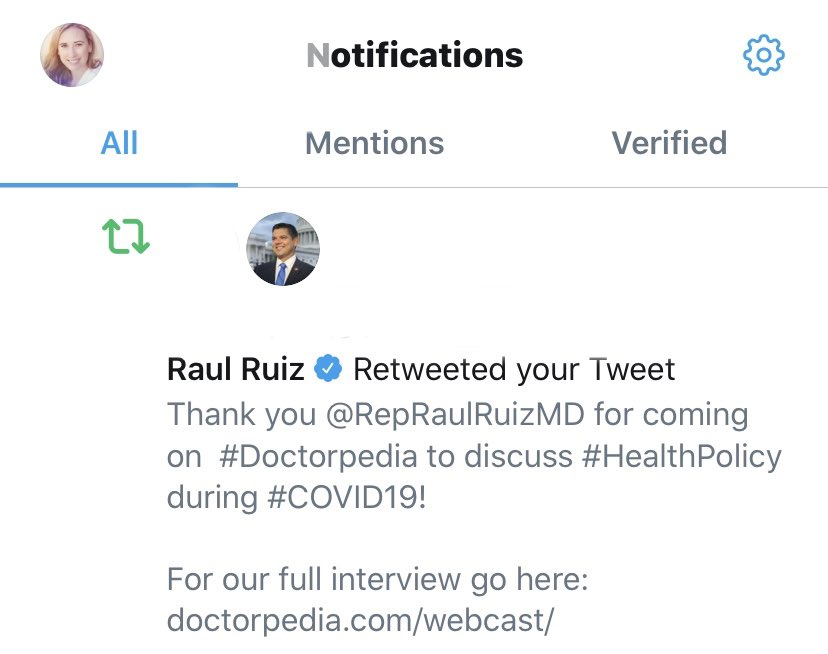 Twitter week: U.S. Congressman retweet and Taye Diggs is following...  Note to self: Don't say anything stupid. https://t.co/Ffr1f1hp8Q