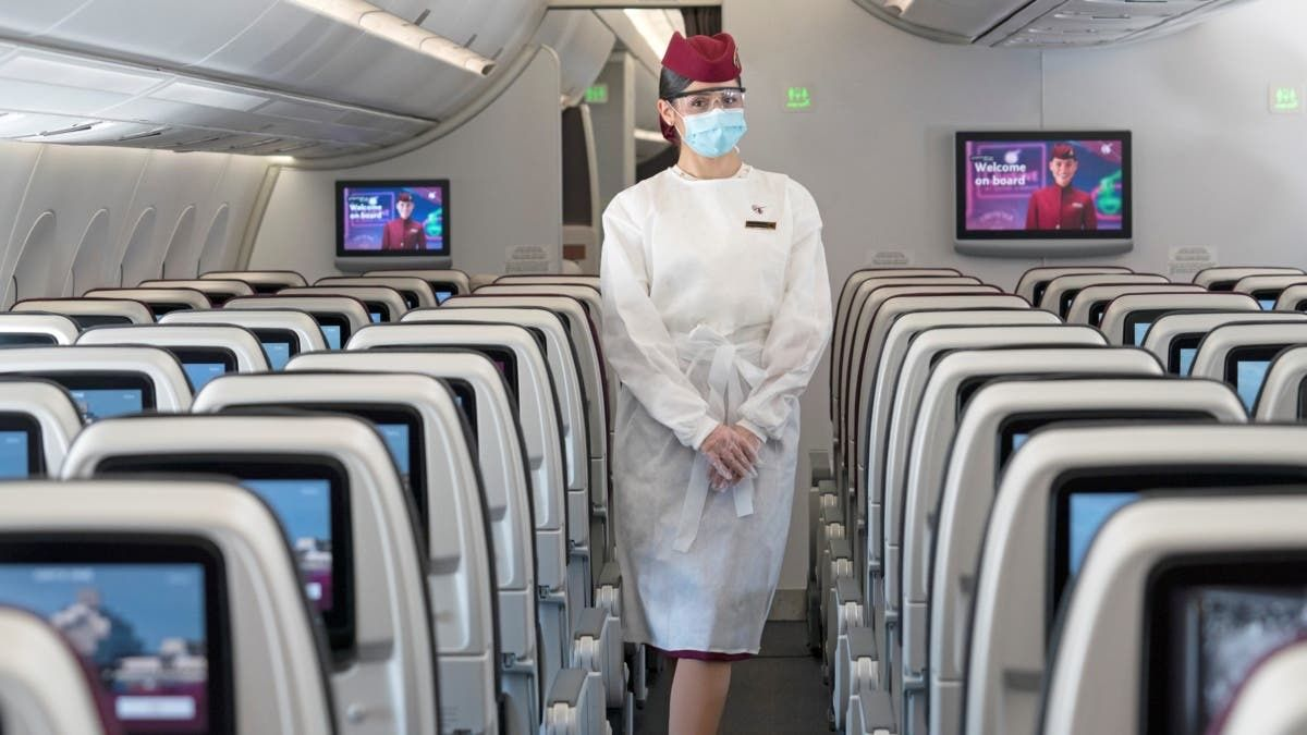 Qatar Airways Introduces Mandatory Face Shields For Passengers https://bit.ly/2VI8dwx by @simple_flying #PassengerExperience #AirTravel #Airlinespic.twitter.com/Ul9ntuMlSQ