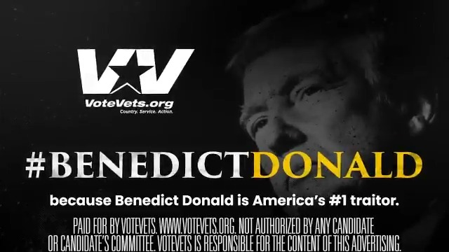 @votevets's photo on #BenedictDonald