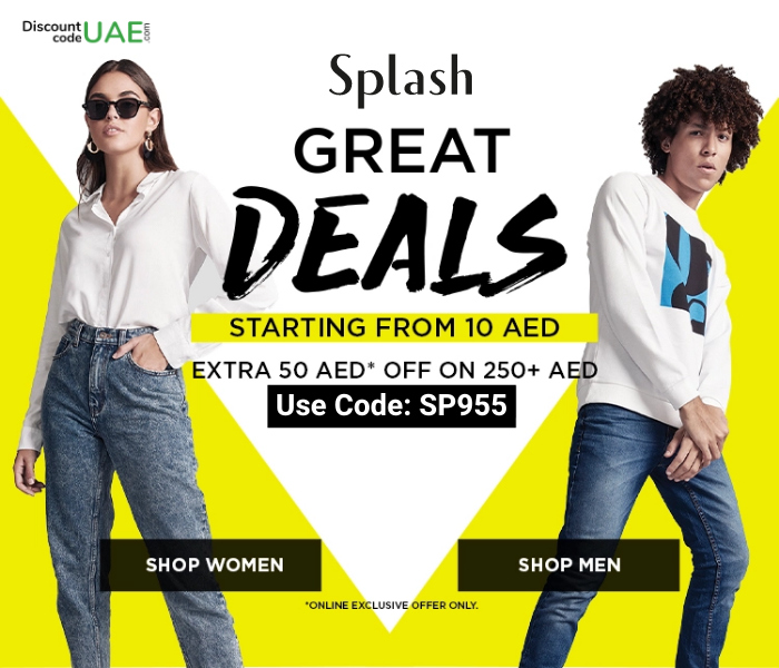 Splash Great Deals Shop now & save maximum discount on #lifestyle products using Splash Coupon Code 𝘚𝘗955#fashion #fashionstyle #womensfashion #mensfashion #clothing #discountcodeuae #deal #discount #coupons #offers   𝘊𝘭𝘪𝘤𝘬 𝘏𝘦𝘳𝘦https://buff.ly/2AI0szbpic.twitter.com/Xjc5LDbogq