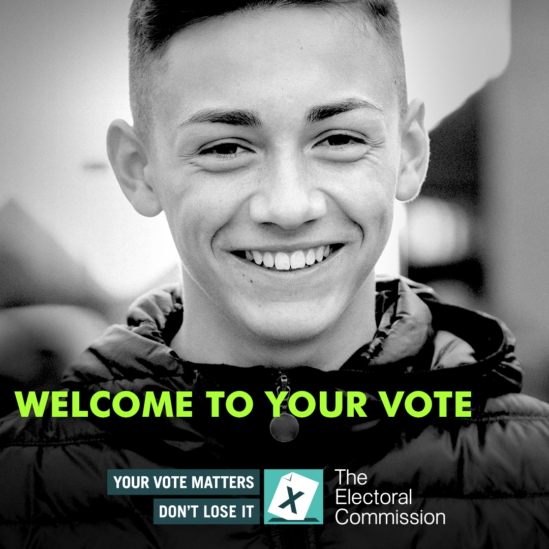 Did you know? 💡 ➡️ In Wales, 16 and 17 year olds and foreign citizens can now vote in Senedd elections. If you know any new voters, let them know they can register to vote now at gov.uk/registertovote