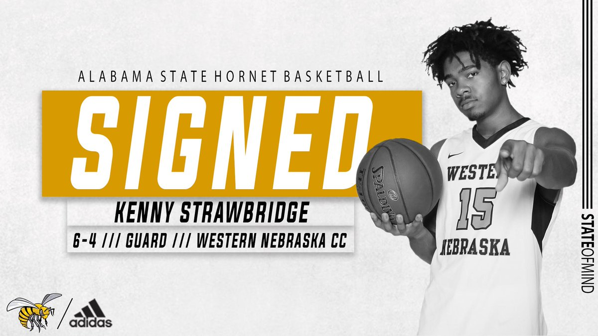 .@mowilliams adds his fifth signee with Western Nebraska guard Kenny Strawbridge (@KennyStrawJr) on board for the 2020-21 season  Welcome to Hornet Nation ‼️  #STATEofMind https://t.co/4SLNvv1b0u