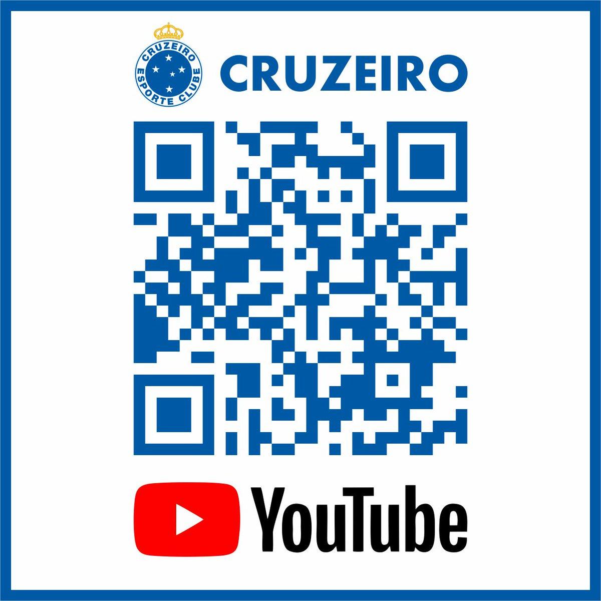 RT @vinicivz: Vamos seguir o Cruzeiro no YouTube galera! QRCODE para espalhar geral.  #UmNovoCruzeiro https://t.co/xMMZGWvLSE