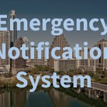 Image for the Tweet beginning: The Austin-Travis County EOC activated