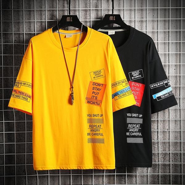 Hip Hop T Shirt Men Letter Print T-shirt Harajuku Streetwear Tshirt Patchwork Summer Tops Ships From The USA http://dlvr.it/RZvGh5 #ShipsFromTheUsa #FuzWeb #ShipsFromUsapic.twitter.com/39PFsb6HLf
